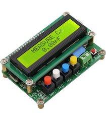 lc100lcd digital lc de capacitancia medidor comprobador de inductancia