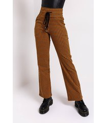 akira try me again plaid relaxed pants