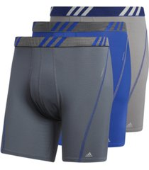 adidas men's 3-pk. performance mesh boxer briefs