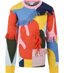 stella mccartney kids multicolor sweater for girl