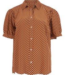 summum cognac blouse