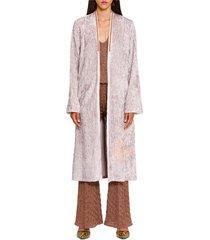 draped cardi-coat