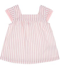 camisa manga corta rosa  offcorss