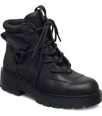 w tioga hiker shoes boots ankle boots ankle boot - flat svart ugg