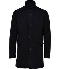 selected slhmosto wool coat b noos svart