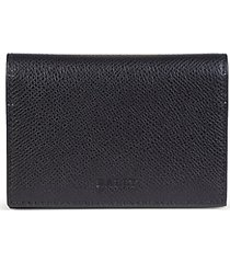 tobel pebbled leather bi-fold wallet