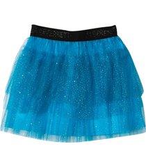 alberta ferretti turquoise skirt