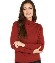 sweater cuello tortuga óxido nicopoly