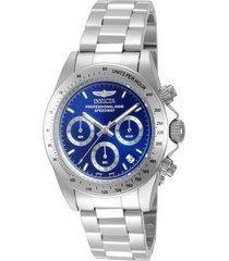 reloj invicta acero modelo 143ia para hombres, colección speedway