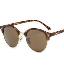 gafas lentes sol mujer retro uv400 n121 café