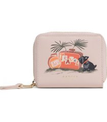 radley london lets travel small leather wallet