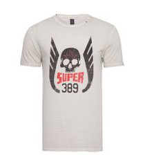 camiseta masculina super 389 - off white