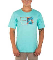 hurley men's every day washed double up tropics t-shirt