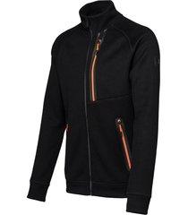 falcon man jacket woody woody-b001 zwart