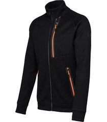 falcon man jacket woody woody-b001 zwart