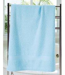 toalha de banho dohler prisma liso, turquesa