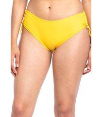 calzón bikini ajustable caderas amarillo samia
