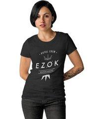 camiseta ezok royal crew feminina