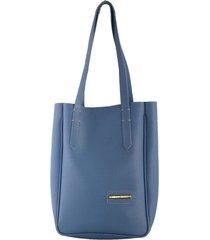 bolso azul para mujer galata bolso galata-azul-un