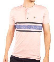camiseta rayas estampadas rosada ref. 108021119