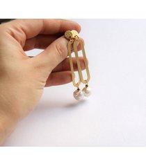 designerskie kolczyki z perłami