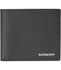 men's burberry leather international wallet -