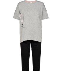 pyjamas pyjamas grå esprit bodywear women