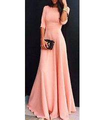women bohemian a line evening prom party dress gown formal bridesmaid wedding