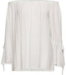 blouses woven blus långärmad vit esprit casual