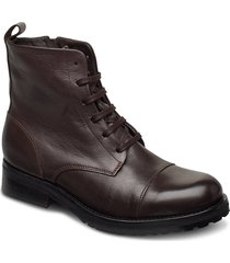 ave lace up boot - black shoes boots ankle boots ankle boot - flat brun royal republiq