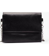 womens want do what you're fold crossbody bag - black