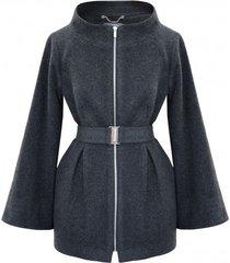 płaszcz wełniany leander