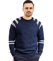 blusa masculina de malha sumaré 10431 azul - kanui