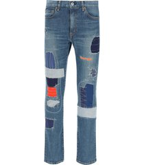 junya watanabe levis patchwork jeans