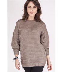 sweter beatrix swe 097 mocca