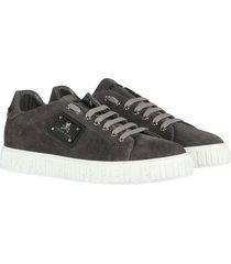 philipp plein lo-top sneakers colorfull dark grey grijs