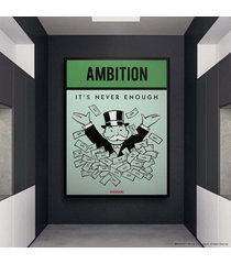 cuadro lienzo tayrona store monopoly - ambition