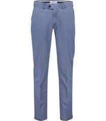 brax katoenen pantalon everest blauw