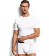 alfani men's underwear, tagless crew neck undershirt 4 pack