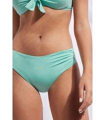 calzedonia high waist swimsuit bottom indonesia eco woman green size 2