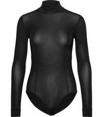 rayon underwear body's slip zwart ganni
