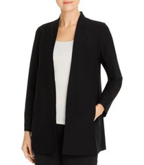 eileen fisher system long shawl collar jacket, regular & petite sizes
