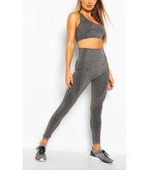 fit seamfree leggings, charcoal