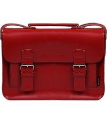 torebka czerwona aktówka damska