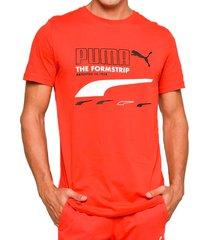 camiseta - rojo - puma - ref : 59716611