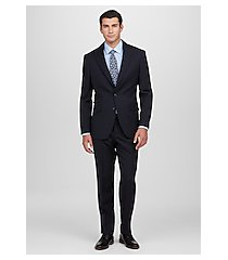 1905 collection slim fit textured stripe men's suit by jos. a. bank