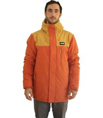 chaqueta portillo snow jacket naranja stoked