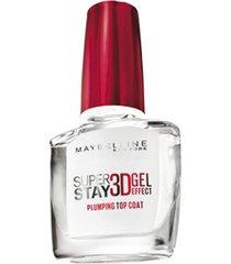 nagellak maybelline new york superstay 3d gel top coat 01 transparent