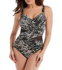 feline fixation madero one-piece swimsuit