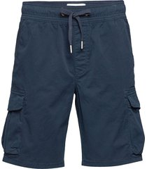 simple washed cargo short shorts cargo shorts blå calvin klein jeans